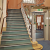 Hendon Library stairs after refurbishment