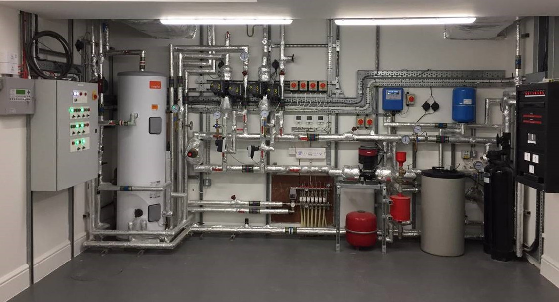 Mechanical and Electrical Plant Room