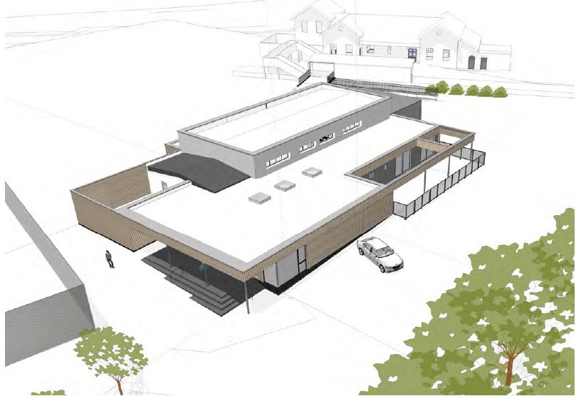 Sevenoaks Community Centre Construction Project Drawing